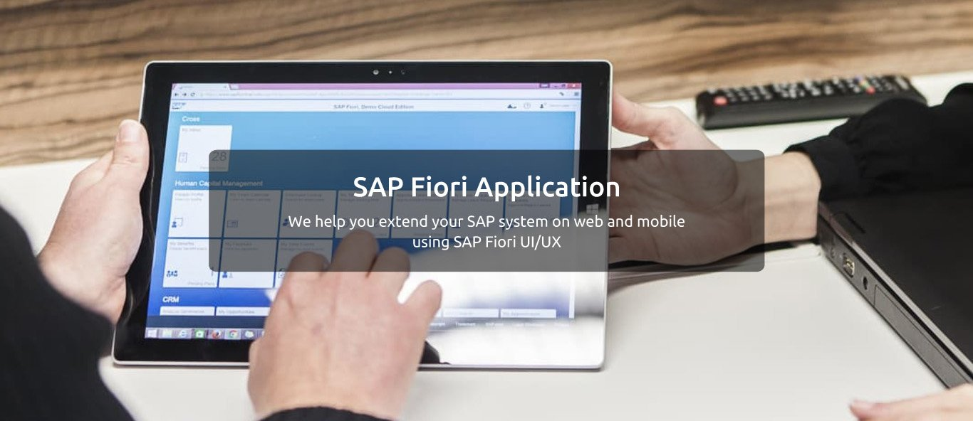 SAP Fiori and UI5 Applications